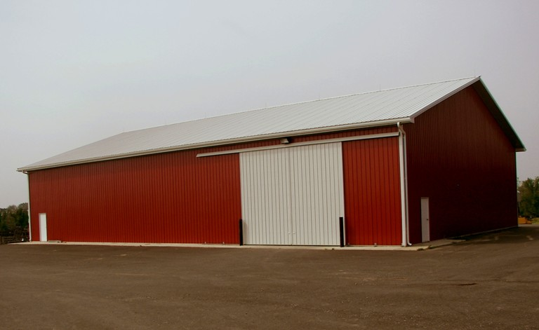 60' x 100' Ag Building for Equipment Storage in Woodstown, NJ