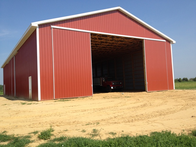 Hay Storage Shelters : Agricultural building construction equipment storage