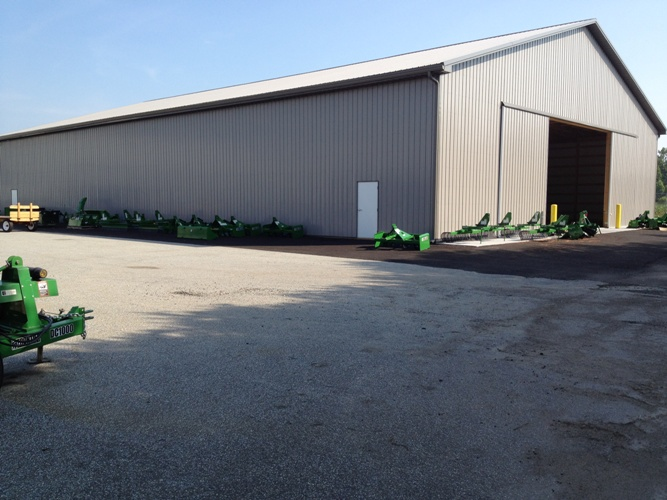 120' x 80' x 22' Commercial BUilding for John Deere Dealership, Woodstown, NJ