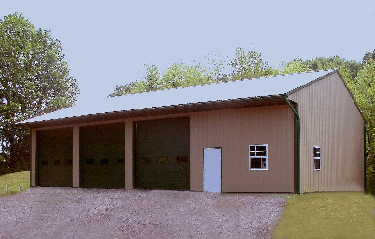 40' x 60' x 14' Equipment Storage for Landscaper