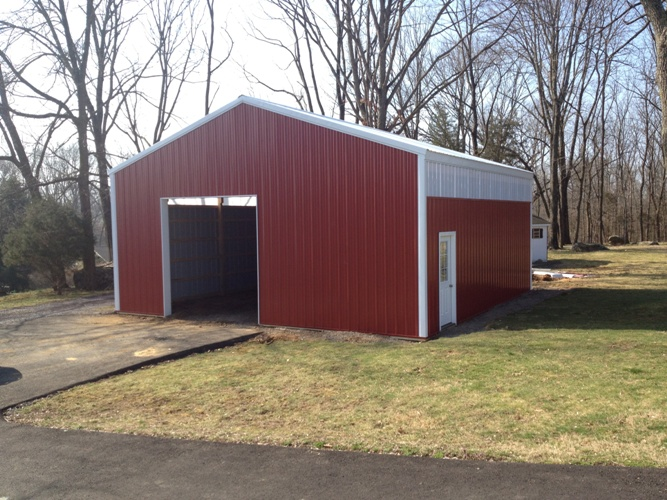 30'x30' Garage in Greenlane, PA