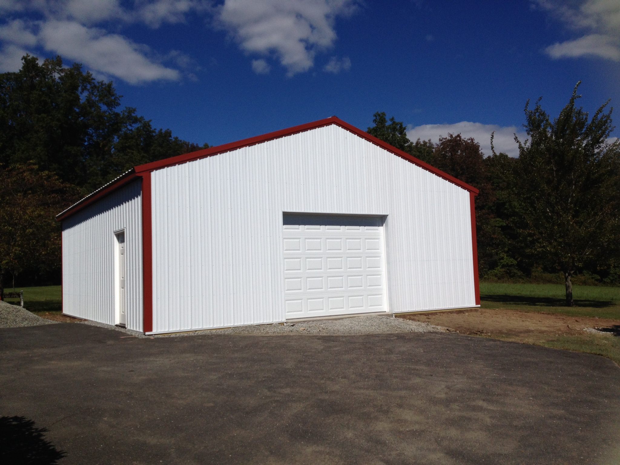 30x32 Garage with 10x8 overhead door in Coopersburg, PA