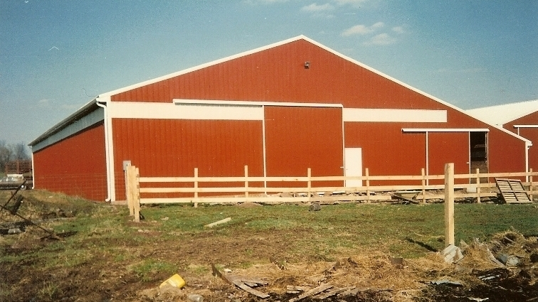 80' x 120' Riding Arena with 24' x 80' Stall Barn Attached, Perkasie, Maryland