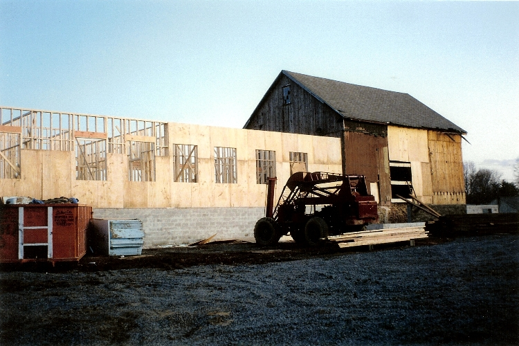 Barn to House Conversion Renovation & Addition